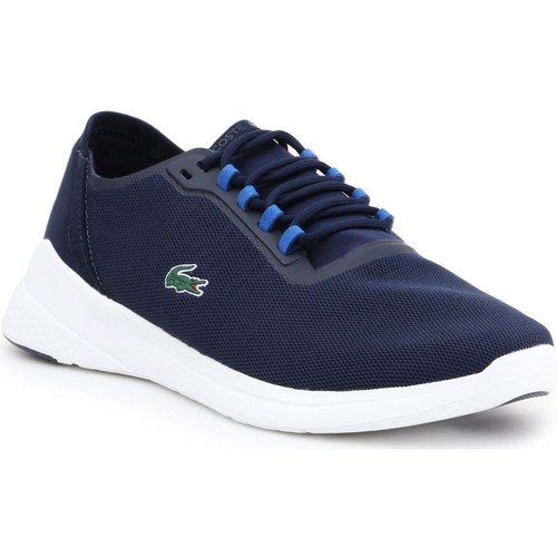 Shoes Men Low top trainers Lacoste LT Fit 118 Navy blue