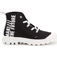 Shoes Women Low top trainers Palladium Pampa HI Future White, Black