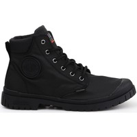 Shoes Women Hi top trainers Palladium Pampa SP20 Cuff WP Black