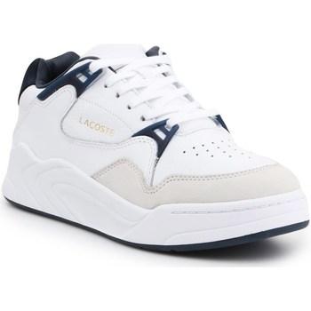 Shoes Men Low top trainers Lacoste Court Slam 319 2 White, Navy blue