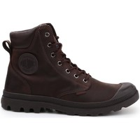 Shoes Women Hi top trainers Palladium Pampa Cuff WP Lux Brown