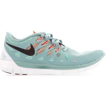 Shoes Women Low top trainers Nike Wmns Free 50 Light blue