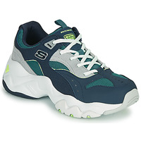Shoes Women Low top trainers Skechers D'LITES 3.0/OCEAN CLOUD Marine