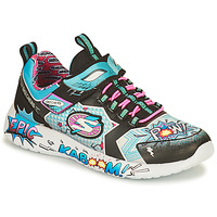 Shoes Girl Low top trainers Skechers DYNAMIGHT/HERO STATUS Multicolour