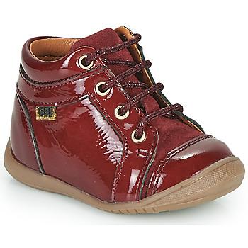 Shoes Girl Hi top trainers GBB OMANE Bordeaux