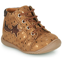 Shoes Girl Hi top trainers GBB POMME Brown