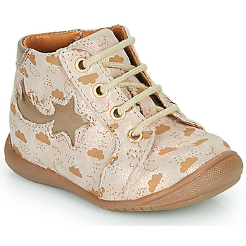 Shoes Girl Hi top trainers GBB POMME Beige