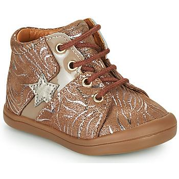 Shoes Girl Hi top trainers GBB DUANA Beige