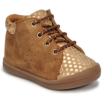 Shoes Girl Hi top trainers GBB NAHIA Brown