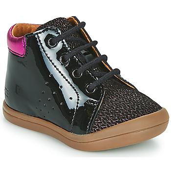 Shoes Girl Hi top trainers GBB NAHIA Black