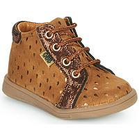 Shoes Girl Hi top trainers GBB FAMIA Brown