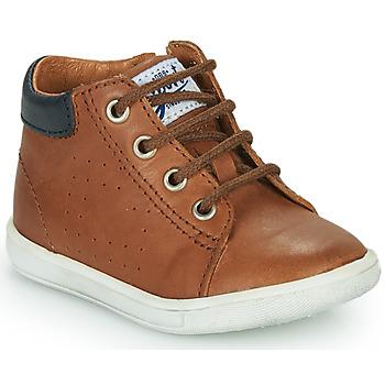 Shoes Boy Hi top trainers GBB FOLLIO Brown