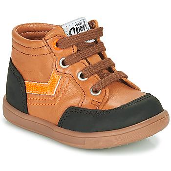 Shoes Boy Hi top trainers GBB VIGO Brown