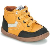 Shoes Boy Hi top trainers GBB VIGO Yellow