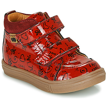 Shoes Girl Hi top trainers GBB DOMENA Red