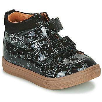 Shoes Girl Hi top trainers GBB DOMENA Black