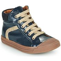 Shoes Girl Hi top trainers GBB VIVENA Blue