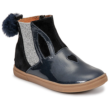 Shoes Girl Mid boots GBB GEMMA Blue