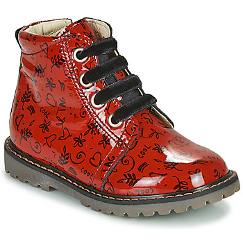 Shoes Girl Hi top trainers GBB NAREA Red