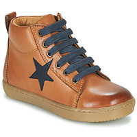 Shoes Boy Hi top trainers GBB KANY Brown
