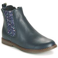 Shoes Girl Mid boots GBB ARANA Blue