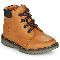 Shoes Boy Hi top trainers GBB CORRY Yellow