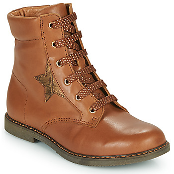 Shoes Girl Hi top trainers GBB JAMILA Brown