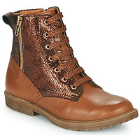 Shoes Girl Hi top trainers GBB ANASTY Brown