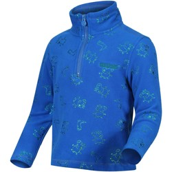 Clothing Children Fleeces Regatta Peppa Pig Printed Lightweight Half Zip Fleece Blue Blue