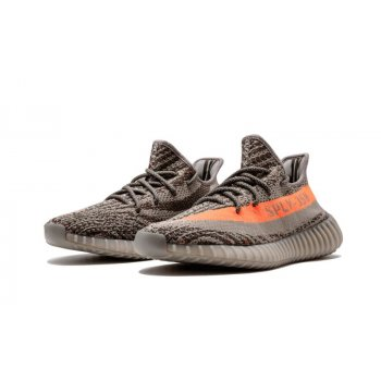 Shoes Low top trainers adidas Originals Yeezy Boost 350 V2 Beluga Steel Grey/Beluga-Solar Red