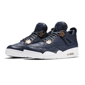 Shoes Hi top trainers Nike Air Jordan 4 Pinnacle Obsidian Obsidian/Obsidian-White