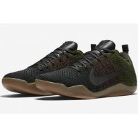 Shoes Low top trainers Nike Kobe 11 4KB Black Horse Black/Team Red-Rough Green