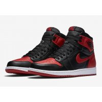 Shoes Hi top trainers Nike Air Jordan 1 High Bred Banned Black/Varsity Red-White