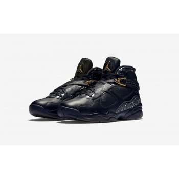 Shoes Hi top trainers Nike Air Jordan 8 Confetti Black Black/Metallic Gold-Anthracite
