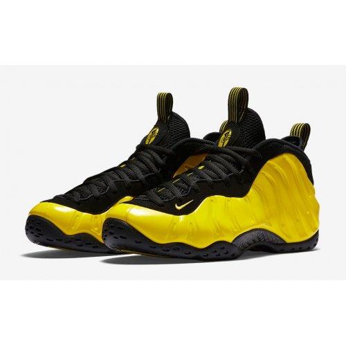Shoes Hi top trainers Nike Air Foamposite One Wu Tang Optic Yellow/Optic Yellow-Black
