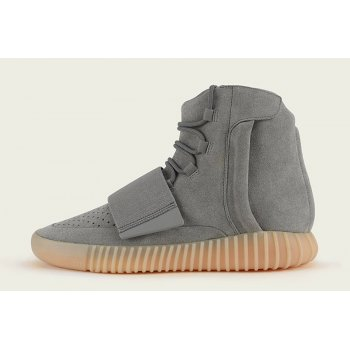Shoes Hi top trainers adidas Originals Yeezy 750 Boost Grey Gum  Light Grey/Light Grey/Gum