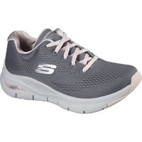 Shoes Women Low top trainers Skechers 149057GYPK3 Arch Fit Sunny Outlook Grey and Pink