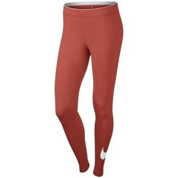 Clothing Women Leggings Nike Womens Sportswear Legging Red