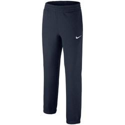 Clothing Children Tracksuit bottoms Nike Brushedfleece Cuffed Graphite