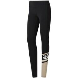 Clothing Women Leggings Reebok Sport Meet You There Black