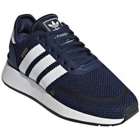 Shoes Children Low top trainers adidas Originals N5923 White, Navy blue