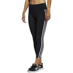 Clothing Women Leggings adidas Originals Believe This 3STRIPES Black