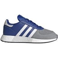 Shoes Men Low top trainers adidas Originals Marathon Tech Grey, Blue