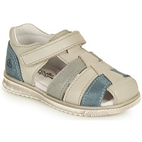 Shoes Boy Sandals Citrouille et Compagnie FRINOUI Grey