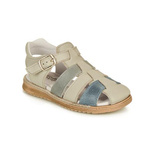 Shoes Boy Sandals Citrouille et Compagnie ZIDOU Grey