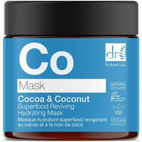 Beauty Hydrating & nourrishing  Dr Botanicals Cocoa & Coconut Superfood Reviving Hydrating Mask 60ml