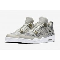 Shoes Hi top trainers Nike Air Jordan 4 Pinnacle Snakeskin Light Bone/White-Pure Platinum-Wolf Grey