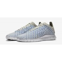 Shoes Low top trainers Nike Free Inneva Woven Granite Navy Fountain Blue/Summit White-Midnight Navy