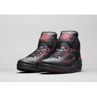 Shoes Hi top trainers Nike Air Jordan 2 Alternate 87 Black/Gym Red-Black