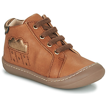 Shoes Girl Hi top trainers GBB APOLOGY Brown